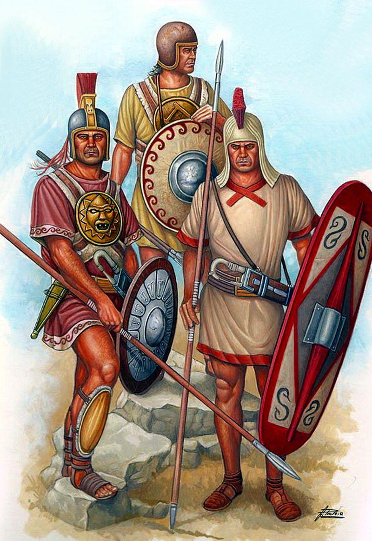 Испанская пехота.