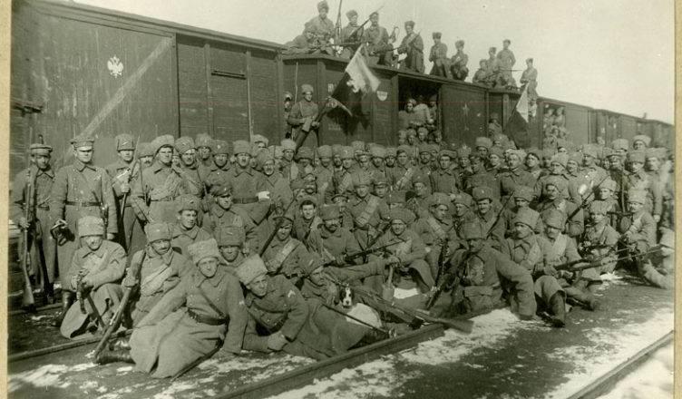 Чешские войска.