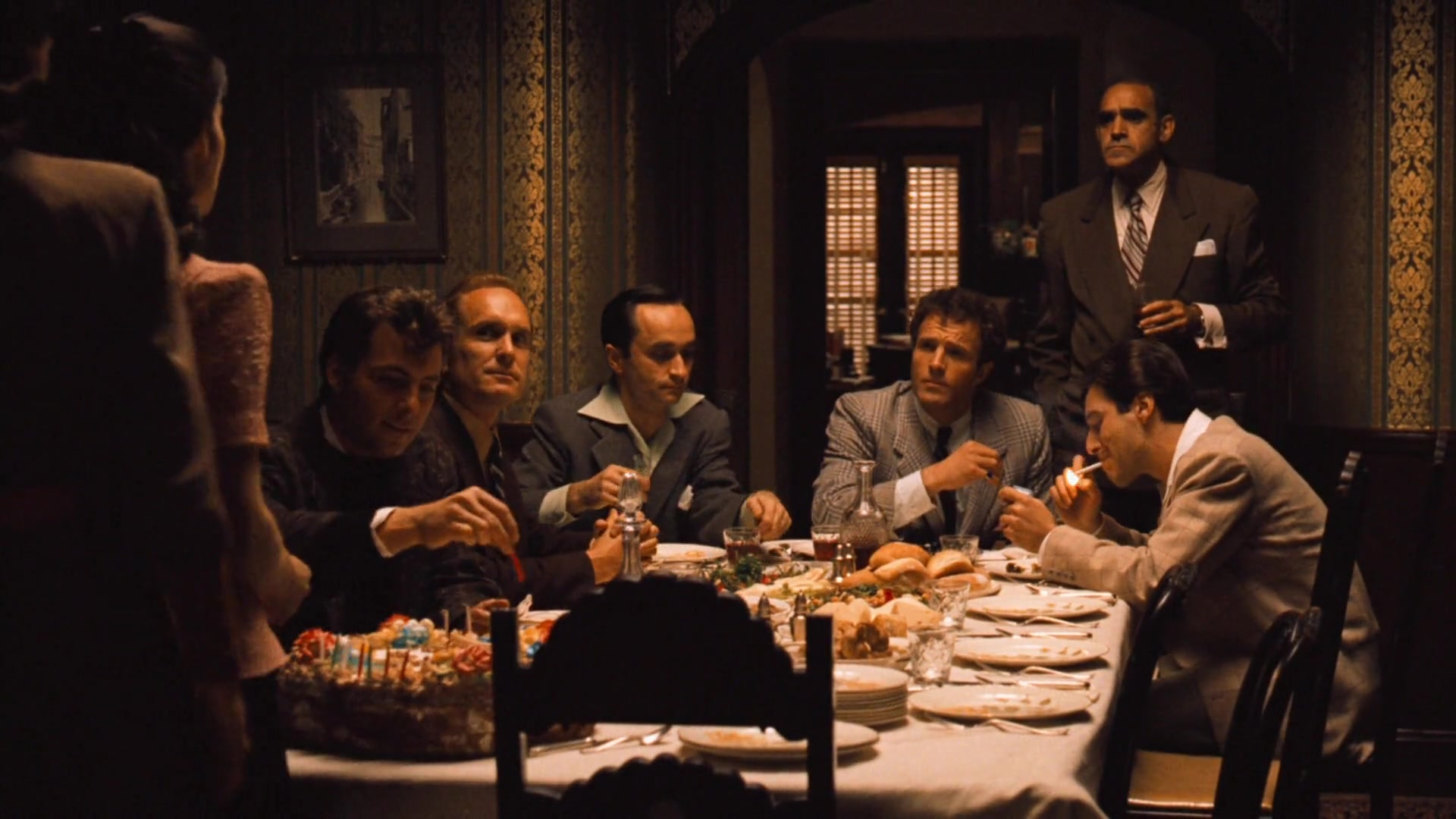 an analysis of the common themes related to international relations in the films the godfather black From the godfather to groundhog day, five psychologists pick the films that tell us what makes humans groundhog day also illustrates object relations theory:.