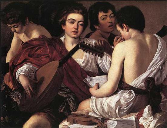 Караваджо «Музыканты» (1595)