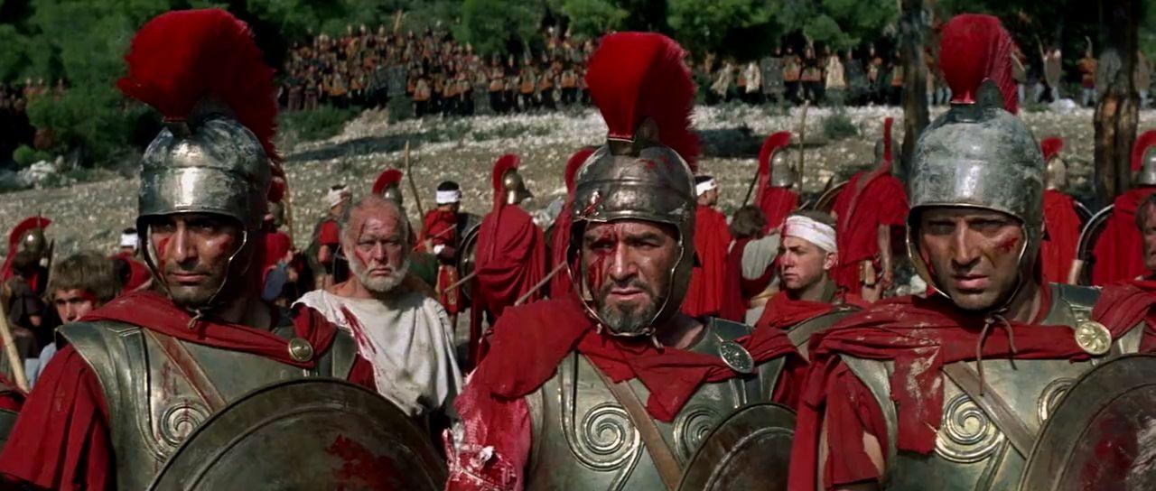Кадр из фильма «300 спартанцев».