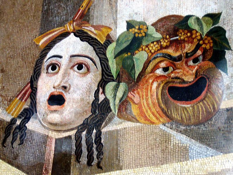 Римские театральные маски. <br>