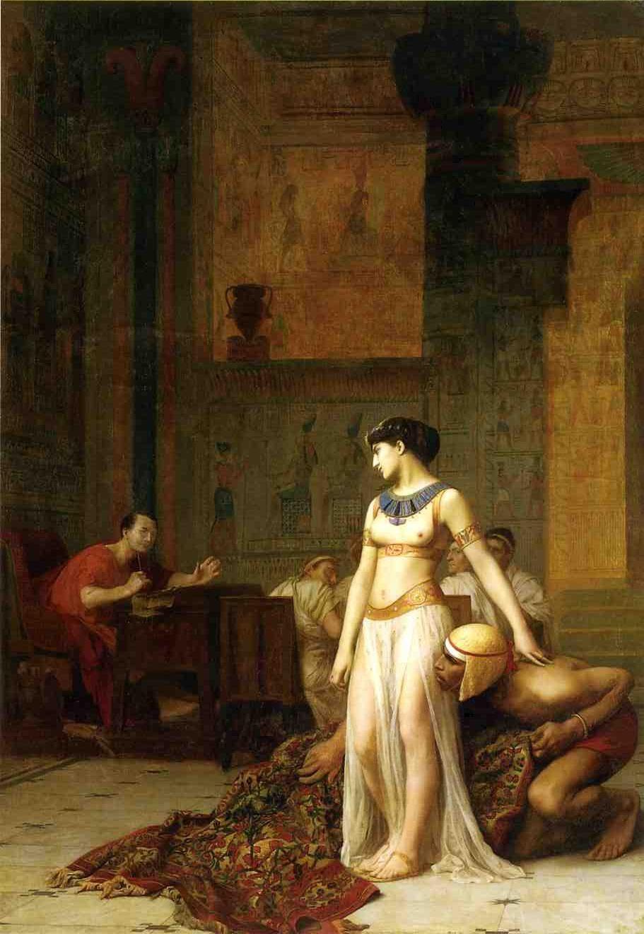 фото 1 Клеопатра и Цезарь_ картина Жана-Леона Жерома.jpg
