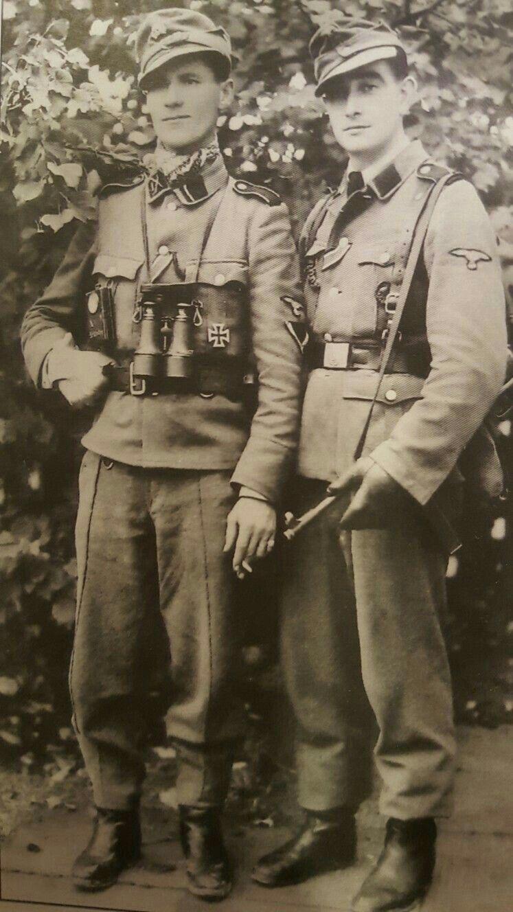 Бойцы особого батальона СС «Дирлевангер». <br>