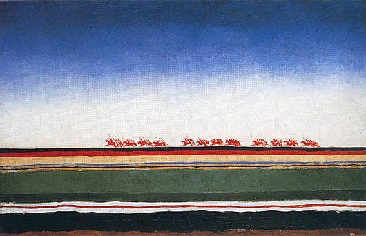ФОТО 1 «Скачет красная конница», Малевич.jpg