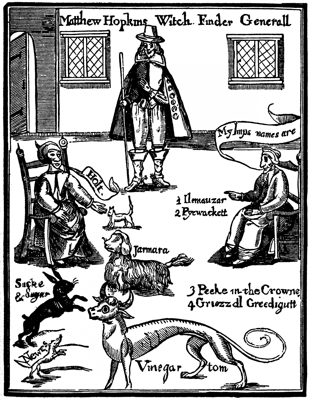 Хопкинс, ведьмы и ихфамильяры.