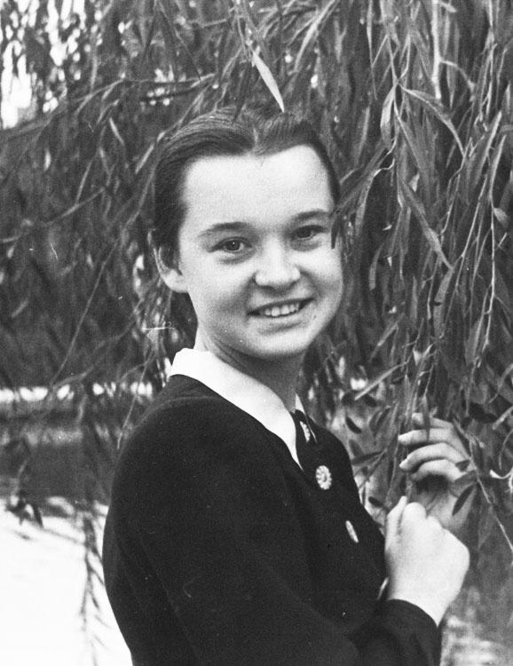 Дочь Людмилы Гурченко на открытии мемориальной доски