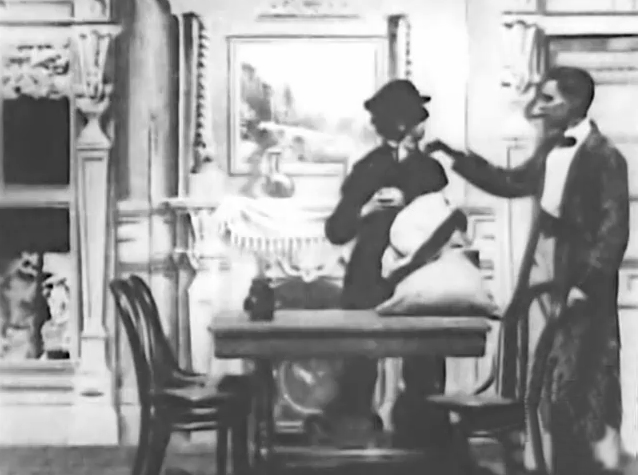 7. Кадр из фильма Озадаченный Шерлок Холмс - первой экранизации рассказов о сыщике.jpg
