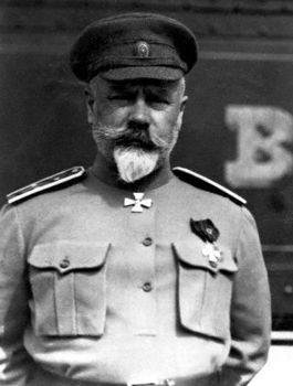 «Оборонец» генерал А. И. Деникин не стал служить немцам. <br>