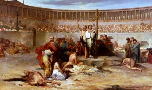 Нерон также известен гонениями на христиан.