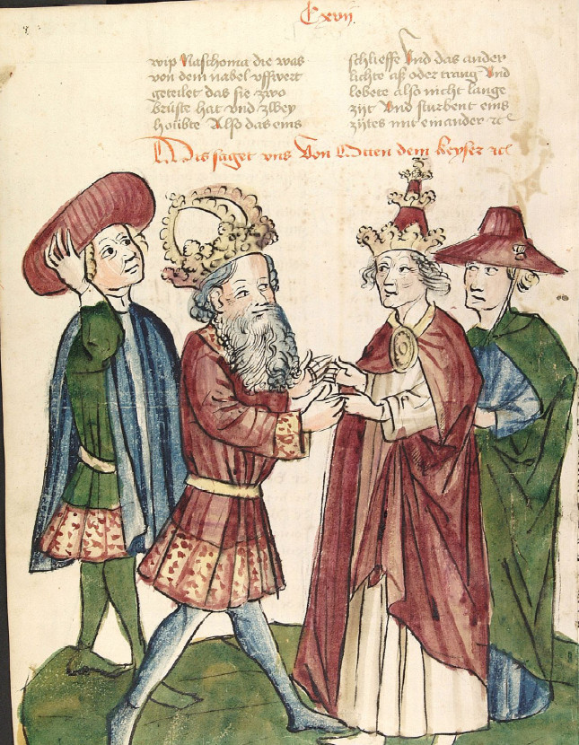 Оттон I иИоанн XII.
