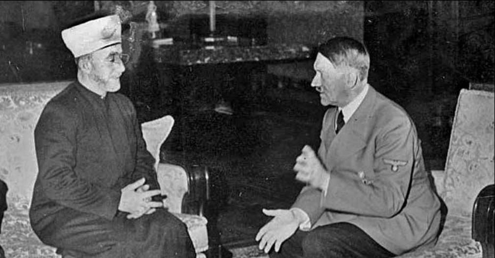 Встреча Гитлера и Амина аль-Хусейни. <br>