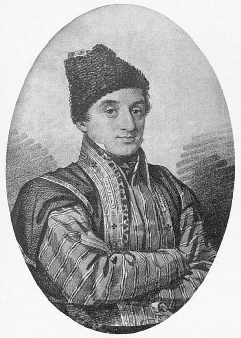 Русский офицер Элизбар Грузинский.  Источник: wikipedia.org