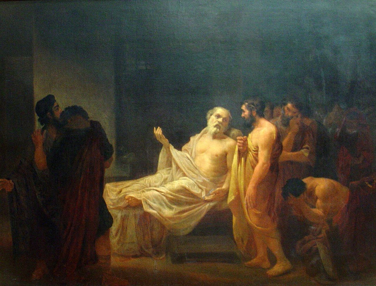an overview of the life and death of socrates an ancient greek philosopher Ancient greek philosophy the disordered souls in which desire rules will return from death to life and it was cited in the current overview b socrates.