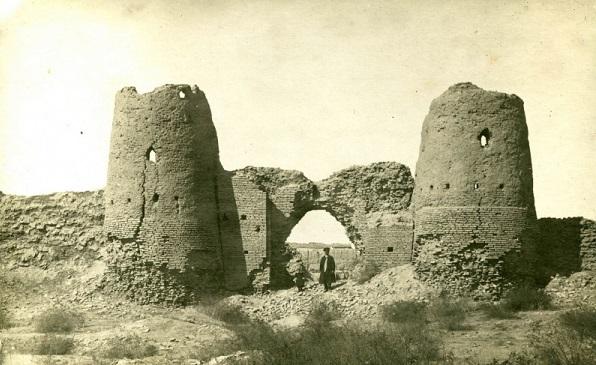 Руины древнего города Мевр.