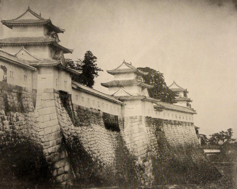 Замок Осака, фото 1865 г.