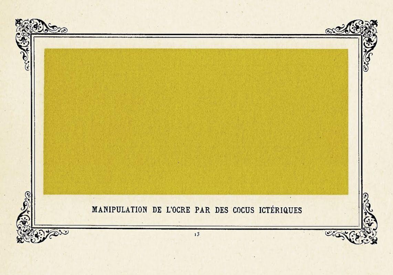«Работа с охрой желтушными мужьями-рогоносцами», 1884.