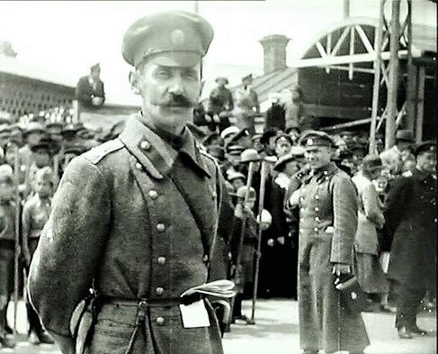 Генерал Молчанов. 26 мая 1922г., Владивосток. <br>
