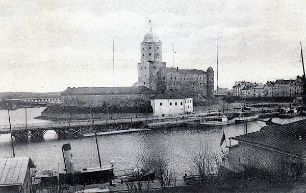 Вид на Выборгский замок. Источник: charmtravel.ru