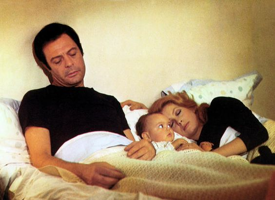 1 Catherine Deneuve with Marcello Mastroianni and their daughter Chiara Mastroianni.jpg
