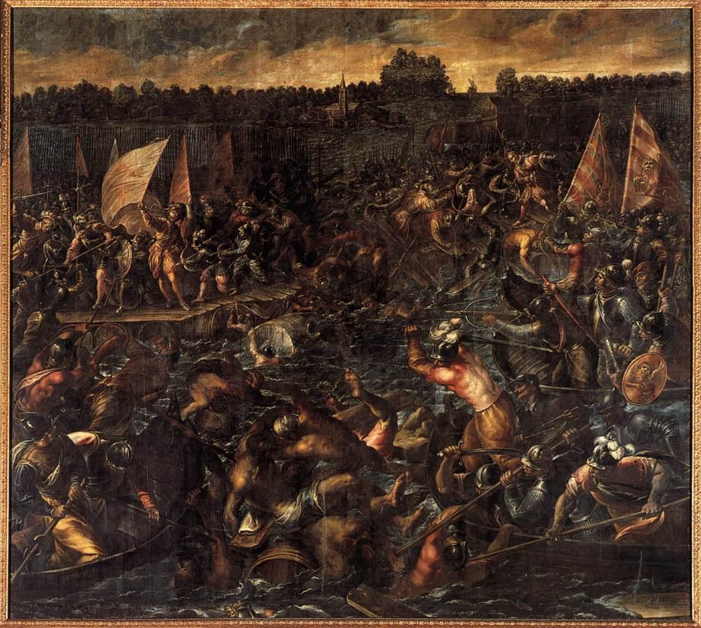 Осада Венеции Пипином.