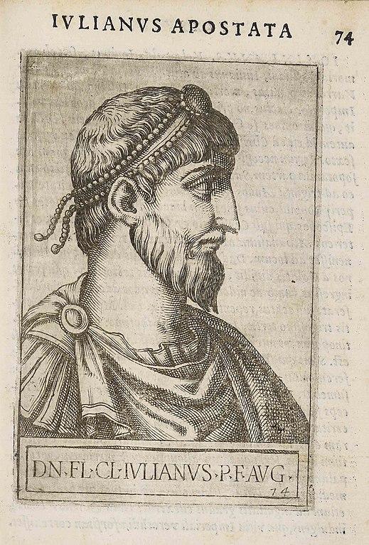 Юлиан Отступник. Иллюстрация XVI века.