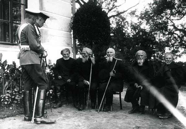 Ветераны и очевидцы войны в1912г.