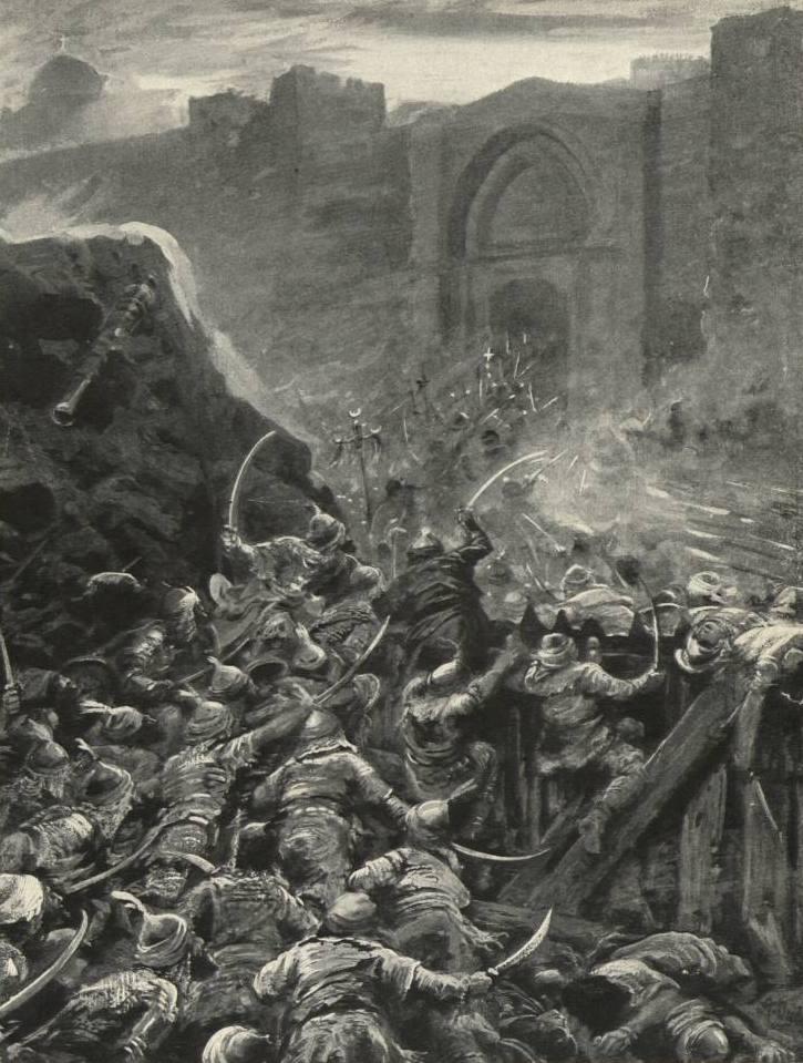 Взятие Константинополя. Дадли А., 1915. Источник: wikipedia.org