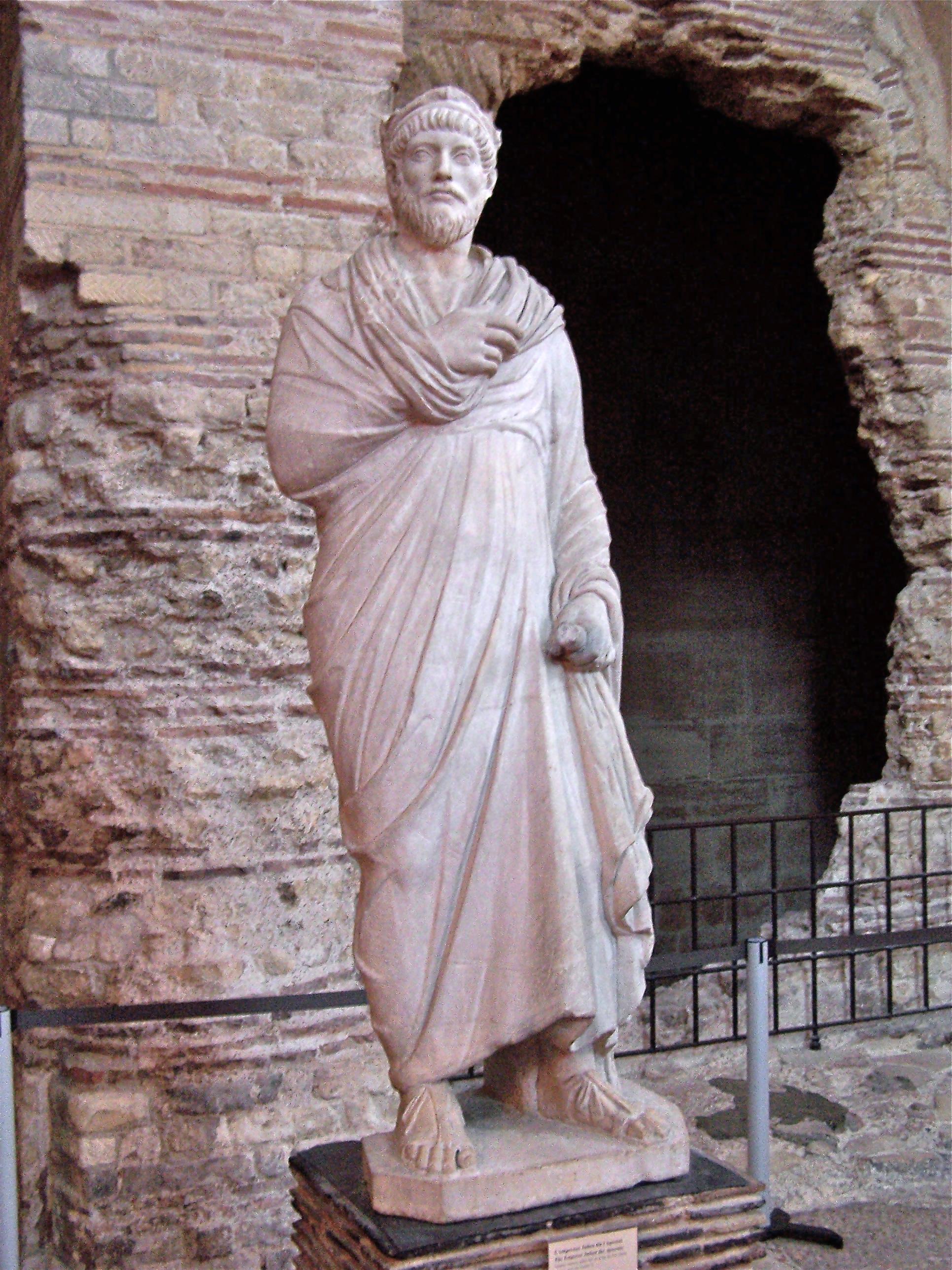 Статуя Юлиана. Музей Клюни, Париж. <br>