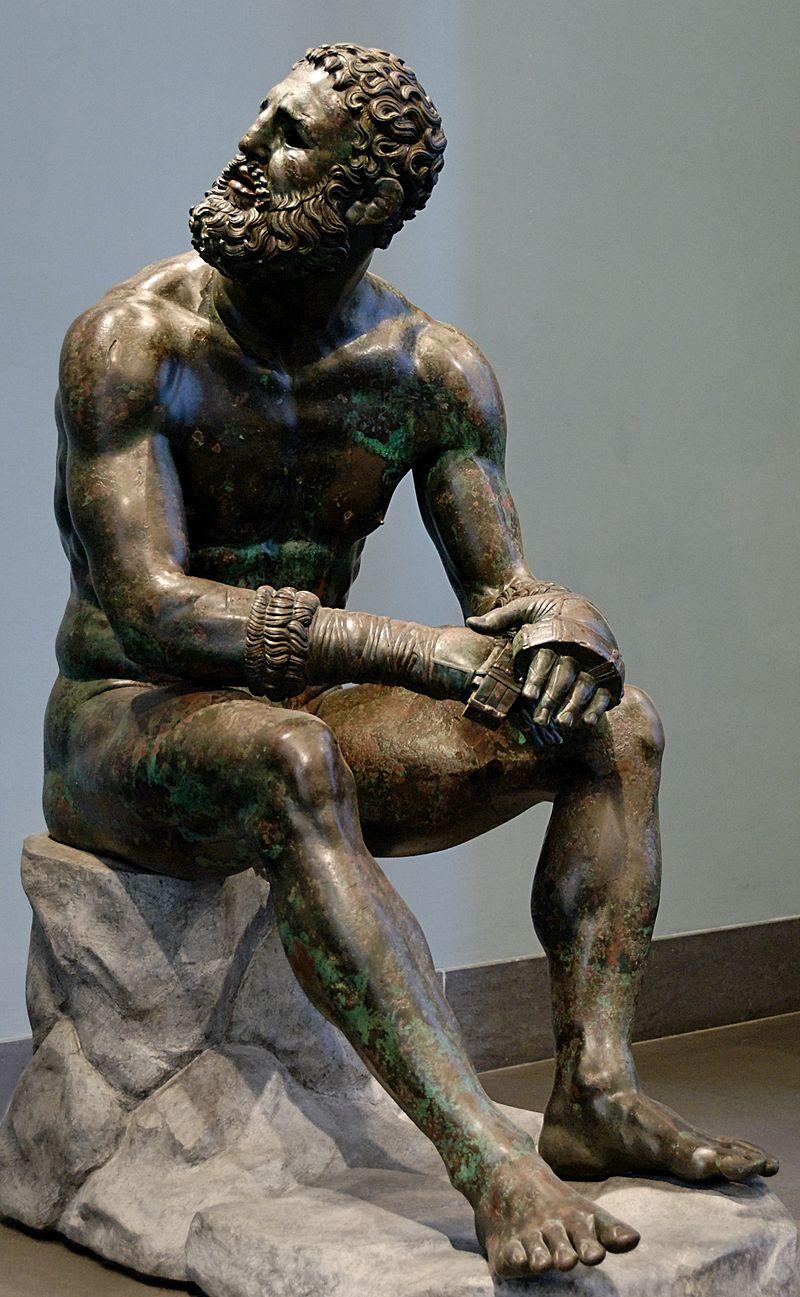 Фото 2. Кулчаныи боец после состязании (Рим бронза I в. до н. э.).jpg