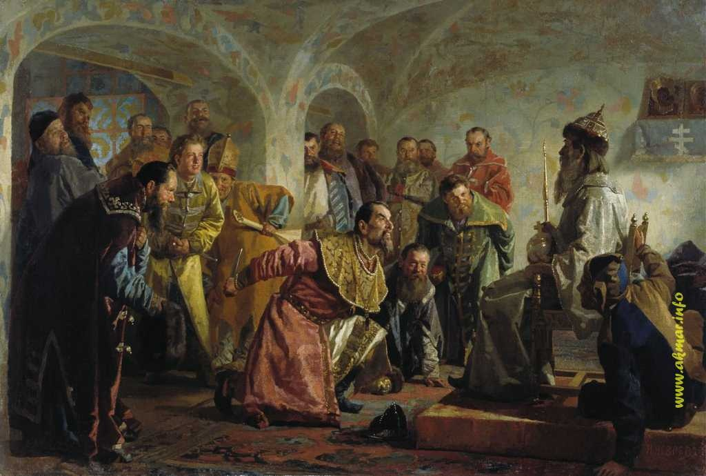 Николай Неврев. Опричники (1904 год)
