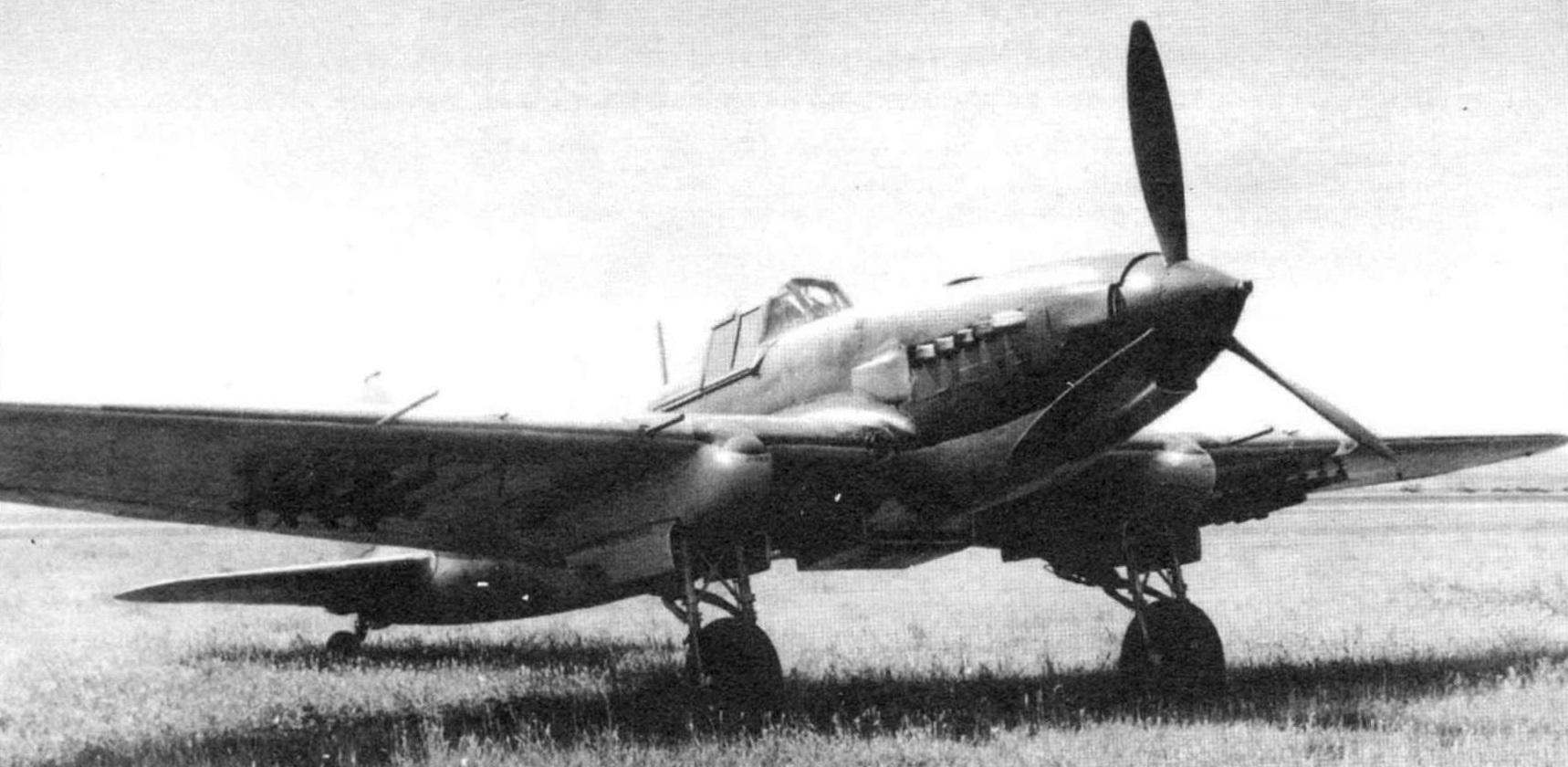 Одноместный Ил-2. Весна 1942 г.