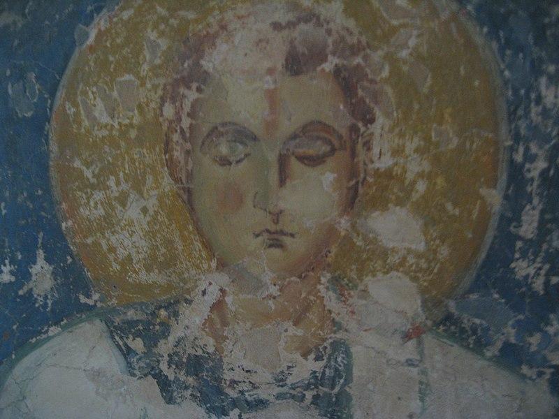 Фрагмент фрески.