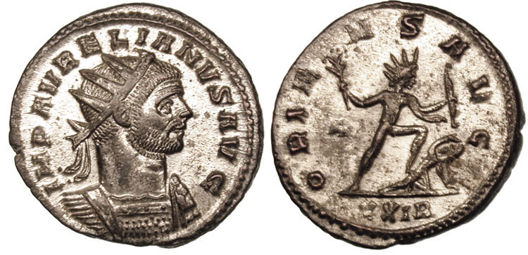 Монеты эпохи Аврелиана.