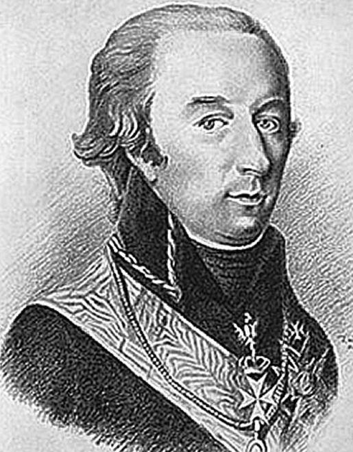 Карл Олав Кронстедт — комендант Свеаборга.