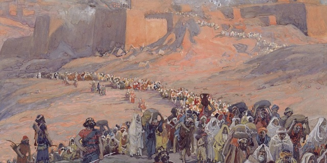 a look at the biblical prophesy following the exile of the hebrews from babylon The return of the faithful remnant of judah in approximately 594bc this was the prophecy of hope given to the doomed the 70 years of exile in babylon.