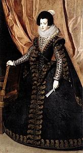 Изабелла Французская. 1602−1644. Королева Испании и Португалии.