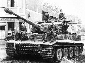 Танк Panzerkampfwagen VI Ausf. H1 «Тигр»