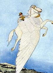 Кто твоя милость изо летающих персонажей античной мифологии?