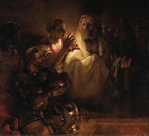 «Отречение Петра» Рембрандта