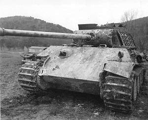 Танк Panzerkampfwagen V «Пантера»